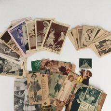Postales: COLECCIÓN DE POSTALES Y RECORTES DE SHIRLEY TEMPLE. Lote 171257695