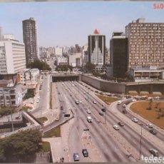 Postales: POSTAL AVENIDA RADIAL SĀO PAULO BRASIL. Lote 173286799