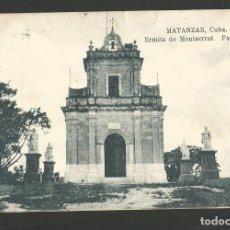 Postales: CUBA-MATANZAS-ERMITA DE MONTSERRAT-VER REVERSO-(61.333). Lote 173595438