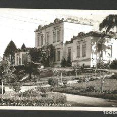 Postales: BRASIL-SAO PAULO-INSTITUTO BUTANTAN-FOTOGRAFICA-VER REVERSO-(61.334). Lote 173595478