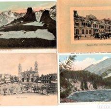 Postales: 4 ANTIGUAS POSTAL,MONTEVIDEO,CANADA,LOS ANDES Y BUENOS AIRES,REGALO POSTAL DE PUEBLA,MEXICO. Lote 175840884
