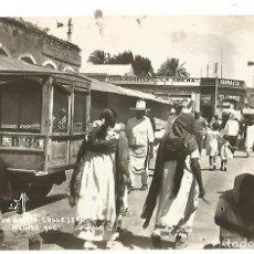 Postales: POSTAL MOTIVO MERIDA YUCATAN MEXICO FOTOGRAFICA M . F . NE NC AÑOS 40. Lote 176484619