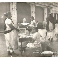 Postales: POSTAL TIPICAS VENDEDORAS DE PANUCHOS EN MERIDA YUCATAN MEXICO FOTOGRAFICA M . F . NE NC . Lote 176484839