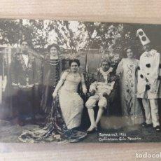 Postales: POSTAL DE MÉXICO. CULIACAN, SINAOLA. CARNAVAL 1910. Lote 176588155