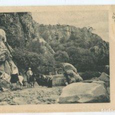 Postales: ARGENTINA. LOS PAREDONES, CAPILLA DEL MONTE. PROVINCIA CORDOBA. FOTO ANTIGUA. 13,8X9CM. Lote 176926462