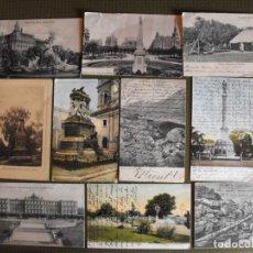 Postales: ARGENTINA. LOTE DE 10 POSTALES ANTIGUAS DE CIUDADES Y PAISAJES. EN TORNO A 1915.. Lote 177585988