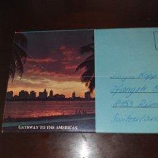 Postales: POSTALES DE MIAMI. Lote 177710033