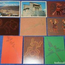 Postales: PERU - NAZCA - LOTE DE POSTALES ¡IMPECABLES!. Lote 177758222