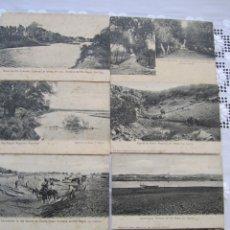 Postales: 81-LOTE 8 POSTALES RÍO NEGRO, REP. ARGENTINA-PRINCIPIOS SIGLO XX-(VER DESCRIPCIÓN). Lote 177987597