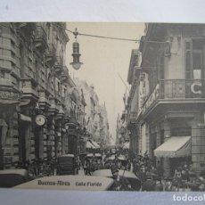 Postales: 100-BUENOS AIRES-8 POSTALES PRINCIPALES CALLES DE BUENOS AIRES, PRINCIPIOS SIG XX (VER DESCRIPCIÓN). Lote 178020562