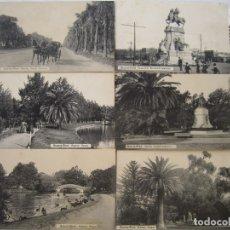 Postales: 88-BUENOS AIRES.PALERMO, PRINCIPIOS SIGLO XX- CERCA 1911-LOTE 5 POSTALES (VER DESCRIPCIÓN). Lote 178021823