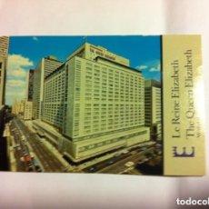 Postales: THE QUEEN ELIZABETH - HOTEL - MONTREAL (CANADA). Lote 178131439