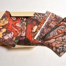 Postales: CARPETA 9 POSTALES MEJICO. Lote 178316496