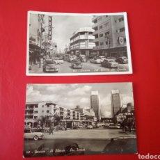 Postales: DOS POSTALES ANTIGUAS CARACAS VENEZUELA. Lote 181036483