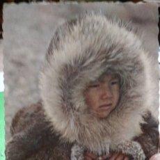 Postales: POSTAL ALASKA ESKIMO BOY IN PARKA 1971 ESCRITA. Lote 182622937