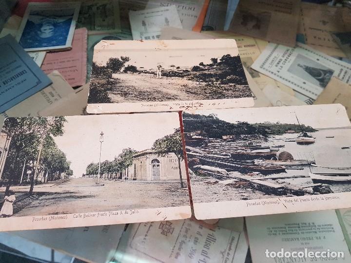 ANTIGUAS POSTALES POSADAS MISIONES ARGENTINA (Postales - Postales Extranjero - América)