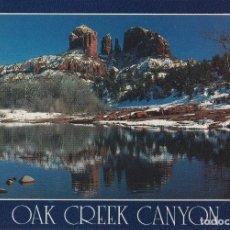 Postales: EUA, ARIZONA, CAÑON OAK CREEK - PHOTO BOB BRADSHAW – S/C. Lote 182881598
