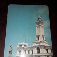 Postales: Nº 33045 POSTAL EDIFICIO DE FAROS Y ESTATUA DE VENUSTIANO CARRANZA VERACRUZ MEXICO. Lote 182909755