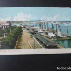 Postales: LA HABANA CUBA MUELLE DE PAULA. Lote 183426687