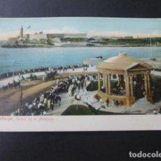 Postales: LA HABANA CUBA PASEO EN EL MALECON. Lote 183426763