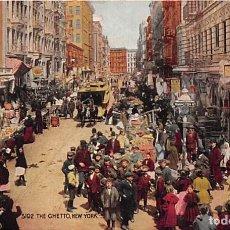 Postales: NEW YORK- USA- THE GHETTO. Lote 183680521