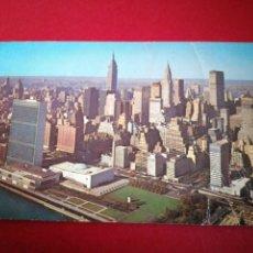 Postales: NUEVA YORK TORRES GEMELAS. Lote 183698576