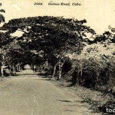 Postales: CUBA. - GÜINES ROAD. Lote 184323987