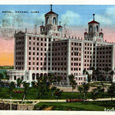 Postales: CUBA. HAVANA. THE NATIONAL HOTEL. Lote 184324121