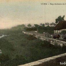 Postales: CUBA SAN ANTONIO DE LOS BANOS. Lote 184324130