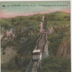 Cartes Postales: LOTE Z POSTAL FUNICULAR FERROCARRILA AÑOS 1900-10. Lote 184627657