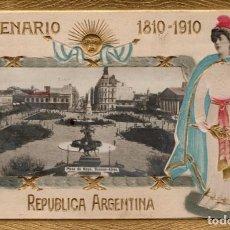 Cartes Postales: ARGENTINA. CENTENARIO REPÚBLICA 1810 - 1910. Lote 185993153