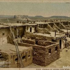 Postales: TARJETA POSTAL. EEUU. NEW MEXICO. ACOMA. 5509.-PUEBLO OF ACOMA AND MESA ENCANTADA. N.M.. Lote 186414566