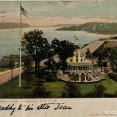 Postales: TARJETA POSTAL. EEUU. NEW YORK. 2043.-HUDSON FROM CLAREMONT. . Lote 186414595