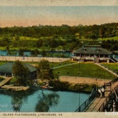 Postales: TARJETA POSTAL. EEUU. VIRGINIA. LYNCHBURG. 764.- Y..M.C.A. ISLAND PLAYGROUNDS. ED. J.P. BELL.. Lote 186414862
