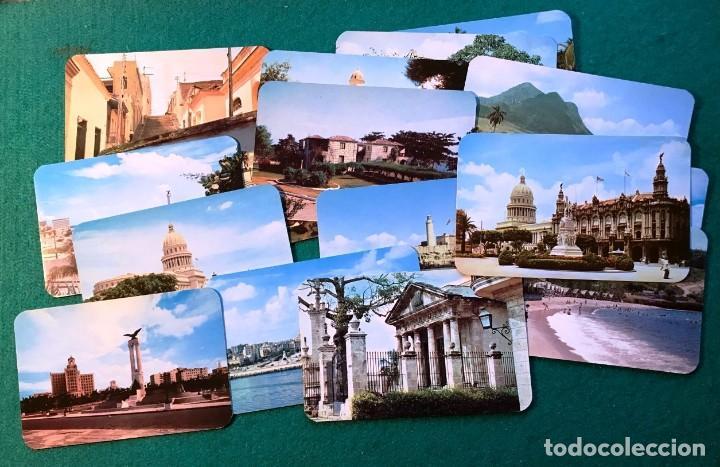17 POSTALES DE CUBA. 1940-50 (Postales - Postales Extranjero - América)