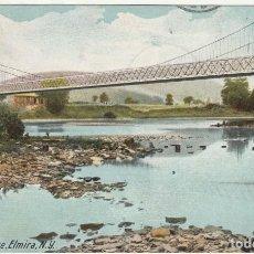 Postales: FITCHS BRIDGE ELMIRA NEW YORK 1907. Lote 187397091