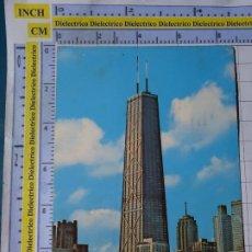 Postales: POSTAL DE ESTADOS UNIDOS. AÑO 1971. CHICAGO JOHN HANCOCK CENTER. 1805. Lote 187458108