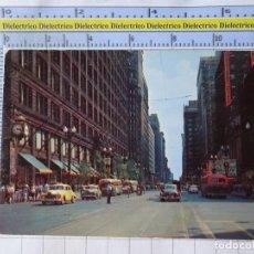 Postales: POSTAL DE ESTADOS UNIDOS. AÑOS 40 60. DOWNTOWN CHICAGO STATE STREET. 1806. Lote 187458148