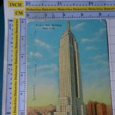 Postales: POSTAL DE ESTADOS UNIDOS. AÑO 1931. NEW YORK NUEVA YORK, RASCACIELOS EMPIRE STATE BUILDING. 1814. Lote 187458533