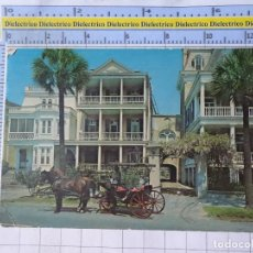 Postales: POSTAL DE ESTADOS UNIDOS. AÑO 1965. SOUTH BATTERY HOMES CHARLESTON SOUTH CAROLINA. 1819. Lote 187458721