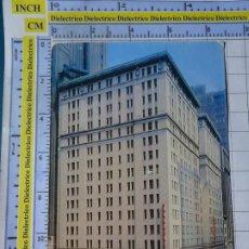 Postales: POSTAL DE ESTADOS UNIDOS. AÑOS 40 60. NEW YORK NUEVA YORK HOTEL PARA HOMBRES KEYSTONE.. 1824. Lote 187458898