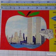 Postales: POSTAL DE ESTADOS UNIDOS. AÑOS 50 70. NEW YORK NUEVA YORK WORLD TRADE CENTER TORRES GEMELAS.. 1825. Lote 187458950