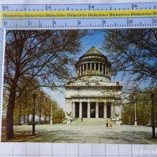 Postales: POSTAL DE ESTADOS UNIDOS. AÑOS 50 70. NEW YORK NUEVA YORK WORLD GENERAL GRANT NATIONAL MEMORIAL 1828. Lote 187459005
