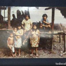 Postales: PRIMITIVOS Y PINTORESCOS SON LOS INDIOS CHOCOS DEL DARIEN - PANAMA -FOTO FLATAU FF 093- SIN CIRCULAR. Lote 188869928