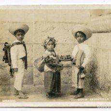 Postales: TIPOS INDÍGENAS. MÉXICO, NIÑOS, REAL PHOTO, F.I. FERRANDO, VERACRUZ. Lote 190145507