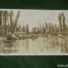 Postales: MEXICO - XOCHIMILCO H-15 - CIRC. 1946. Lote 190616952