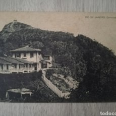 Postales: POSTAL ANTIGUA CORCOVADO BRASIL RÍO DE JANEIRO. Lote 191365371