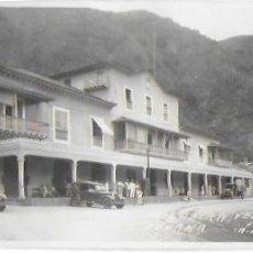 Postales: P-9883. POSTAL FOTOGRAFICA DE VENEZUELA, LA GUAIRA, ADUANA. FOT.MÜLLER.. Lote 191888950