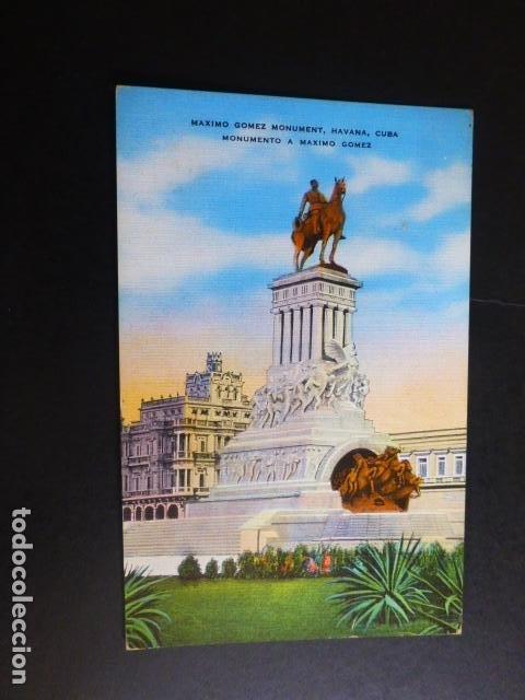LA HABANA CUBA MONUMENTO A MAXIMO GOMEZ (Postales - Postales Extranjero - América)
