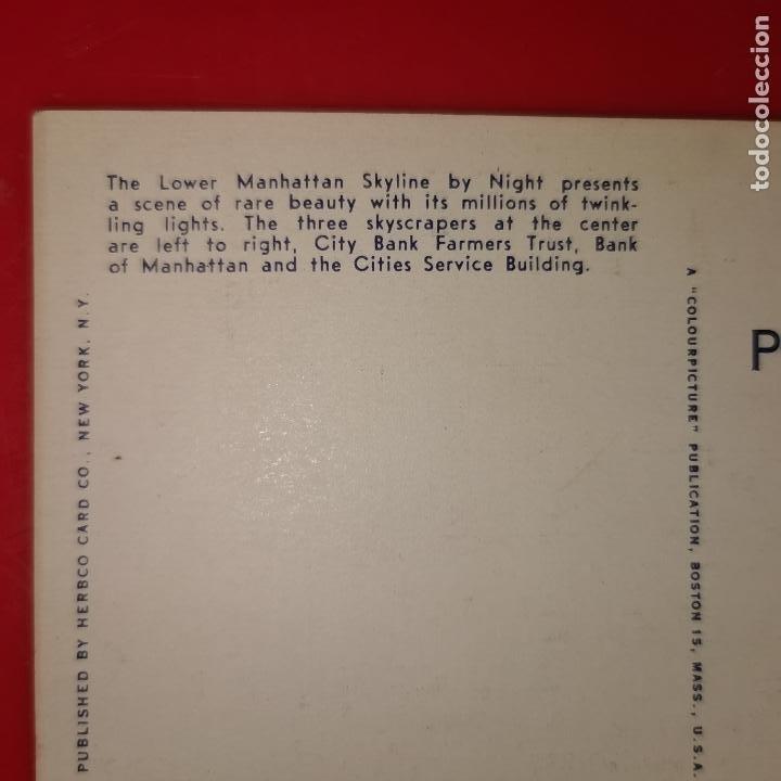 Postales: Lote 11 postales de Nueva York año 1950 sin circular Muy buen estado - Foto 2 - 192225127